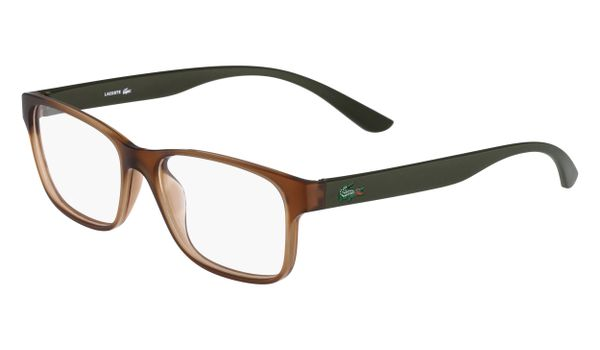 Lacoste L3804B-210 Kids Eyeglasses Brown Matte