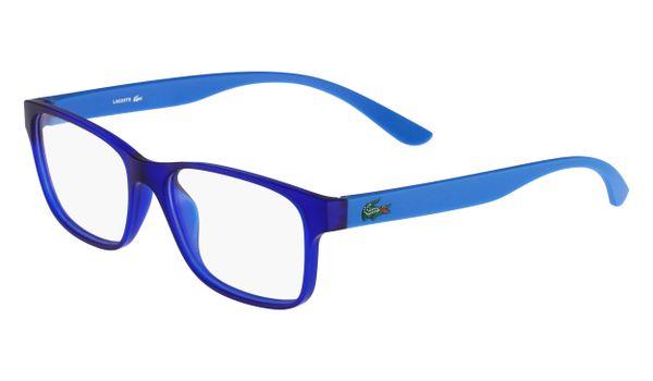 Lacoste L3804B-467 Kids Eyeglasses Mid Blue Matte