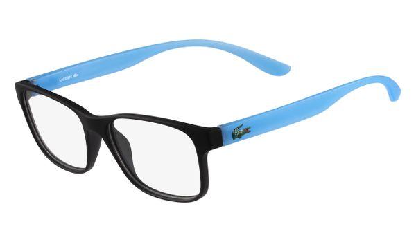 Lacoste L3804B-001 Kids Eyeglasses Onix Matte with Starphospho Temples