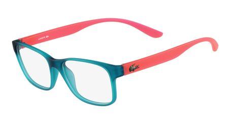 Lacoste L3804B-444 Kids Eyeglasses Aqua Matte with Starphospho Temples