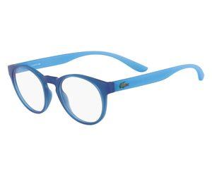 e2c8dfc64aa5 Lacoste L3910-424 Kids Eyeglasses Blue with Azure Phospho Temple