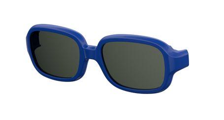 Kids By Safilo Sa0003 Eyeglasses Clip Only Polarized Blue 0PJP