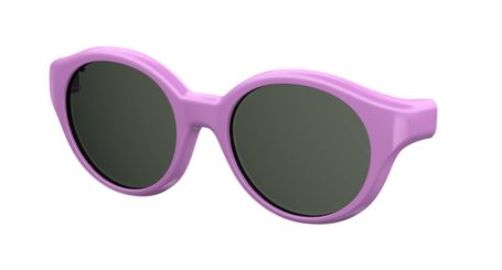 Kids By Safilo Sa0008 Eyeglasses Clip Only Polarized Violet 0B3V