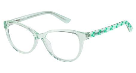 Juicy Kids Eyeglasses JU927 0E1N Aqua Crystal