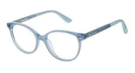 Juicy Kids Eyeglasses JU932 0DXK Blush Glitter Silver
