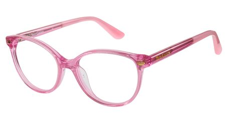 Juicy Kids Eyeglasses JU932 0W66 Pink Glitter