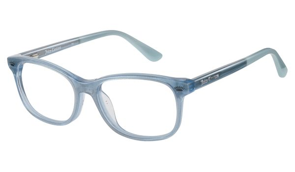 Juicy Kids Eyeglasses JU933 0DXK Blush Glitter Silver
