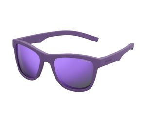 Polaroid Kids PLD-8018/S Sunglasses Polarized Rubber Violet/Purple 02Q1-MF