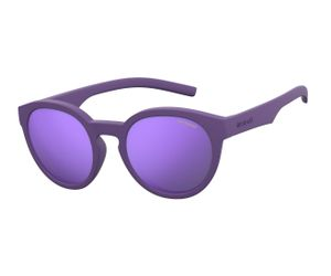 e09c64a30d79 Polaroid Kids PLD-8019/S Sunglasses Polarized 02Q1-MF Violet/Purple