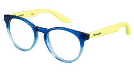Carrera Kids Eyeglasses Carrerino 58 0W9J Blue Yellow