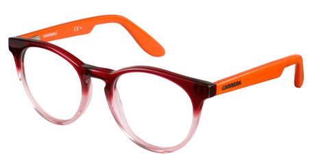 Carrera Kids Eyeglasses Carrerino 58 0W9H Red Orange