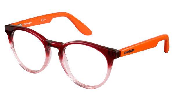 Carrera Kids Eyeglasses Carrerino 58 0W9H Red Orange