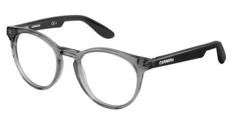 Carrera Kids Eyeglasses Carrerino 58 0DTH Transparent Gray Black