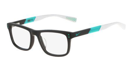 Nike 5536-070 Kids Eyeglasses Dark Grey/Hyper Jade
