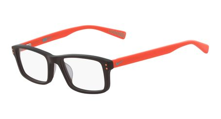 878d67d528c2 Nike 5537-210 Kids Eyeglasses Baroque Brown Total Orange Nike5537-210 -  Optiwow