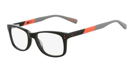 Nike 5538-312 Kids Eyeglasses Cargo Khaki/Total Orange
