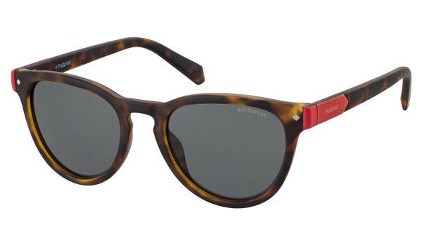 Polaroid Kids PLD-8026/S Sunglasses Polarized 0086 Dark Havana