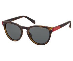 42929d535ed Polaroid Kids PLD-8026 S Sunglasses Polarized 0086 Dark Havana