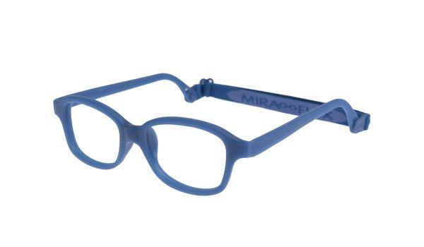 Miraflex Mike 1-D  Children's Eyeglasses Dark Blue 42/17