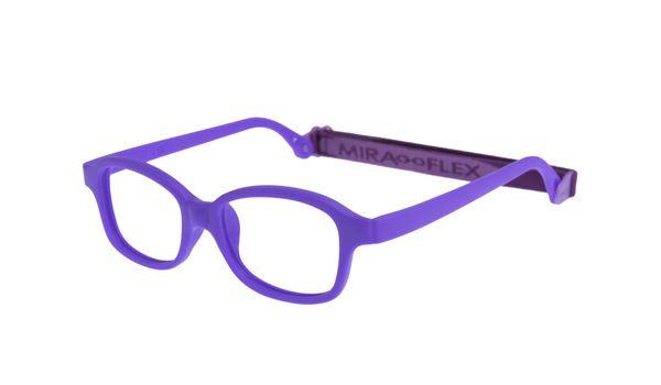 Miraflex Mike 1-S 42/17 Children's Eyeglasses Neon Purple