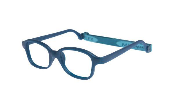 Miraflex Mike 1-VM 42/17 Children's Eyeglasses Dark Turquoise