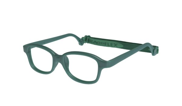 Miraflex Mike 1-VP 42/17 Children's Eyeglasses Green Pearl