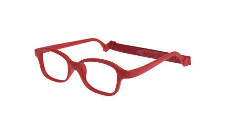 Miraflex Mike 2-I 44/18 Children's Eyeglasses Red