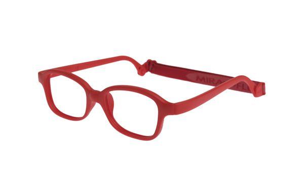 Miraflex Mike 2-I Children's Eyeglasses Red 44/18