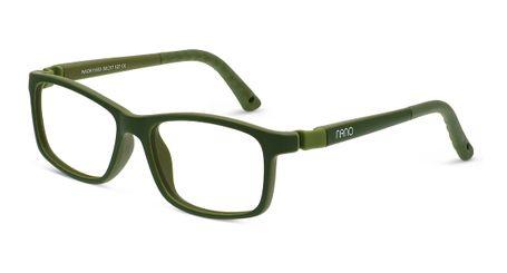 Nano NAO611548 Fangame Kids Eyeglasses Khaki/Khaki Eye Size 48-17