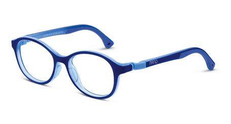Nano NAO650442 Sprite Children's Glasses Navy/Crystal Light Blue Eye Size 42-15 (4-6 Years)