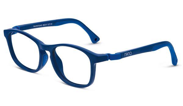 Nano NAO670346 Power Up Children's Glasses Matte Navy/Navy Eye Size 46-17