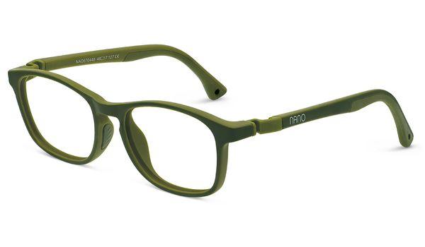 Nano NAO670448 Power Up Children's Glasses Kahki/Khaki Eye Size 48-17  (8-12 Years)