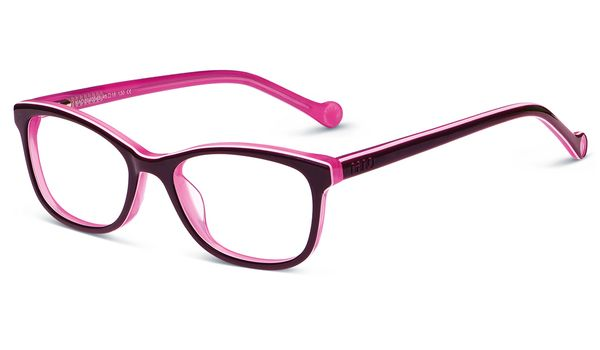 Nano Cool NAO2040543 Trending Children's Glasses Dk Purple/Pink/Pink Eye Size 43-15 (4-6 Years)