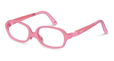 Nano NAO58544 Beat Kids Glasses Matte Pink/Crystal Pink Eye Size 44-16 (4-6 Years)