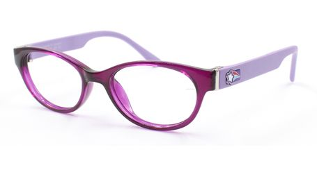 Liberty Sport  Z8-Y60 Kids Eyeglasses Translucent Purple/Satin Purple #658 (6-10 Years)