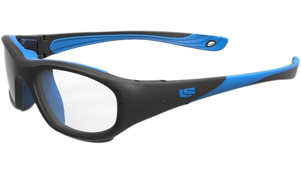 Liberty Sport Protective Glasses Rec Specs RS-40 Matte Black/Cyan #273