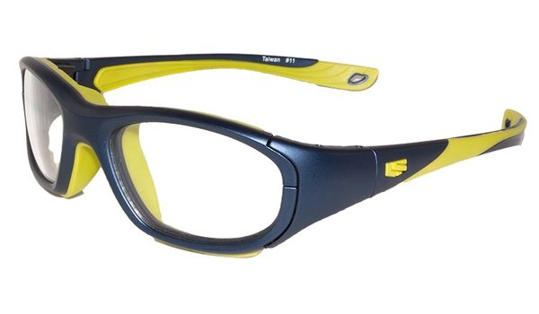 Liberty Sport Protective Glasses Rec Specs RS-40 Matte Navy/Green #638