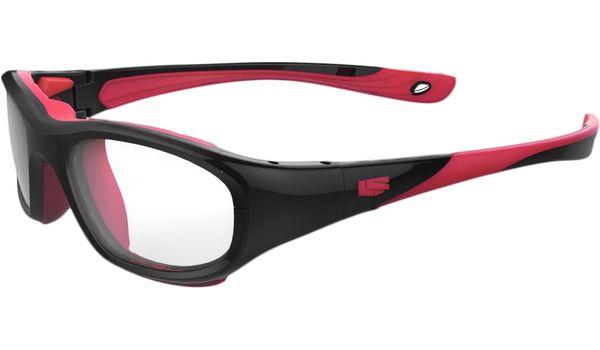 Liberty Sport Protective Glasses Rec Specs RS-40 Shiny Black/Red #221