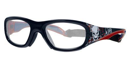 Liberty Sport Protective Rec Specs F8 Street Series Eyeglasses Audio Skull #645