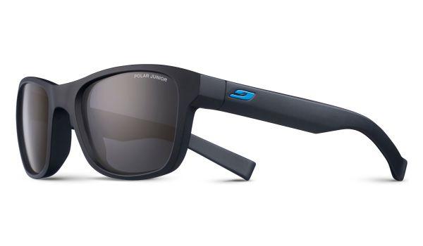 Julbo Reach L J4669314 Childrens Sunglasses with Polarized Lenses Matt Black 10-13 Years