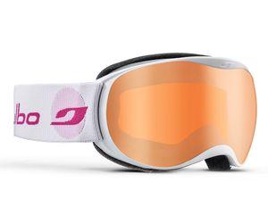 Julbo J73812116  Atmo Kids Prescription Ski Masks White/Pink/Flash Silver 4-8 Years