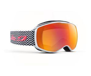 Julbo J75312107 Echo Kids Prescription Ski Masks Black/White Tweed/Multilayer Fire 8-12 Years