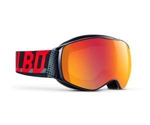 Julbo J75312217 Echo Kids Prescription Ski Maaks Black/Grey/Red/Multilayer Fire 8-12 Years