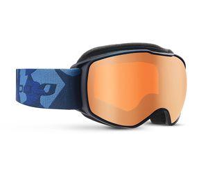 Julbo J75312128 Echo Kids Prescription Ski Masks Blue Camo/Flah Silver 8-12 Years