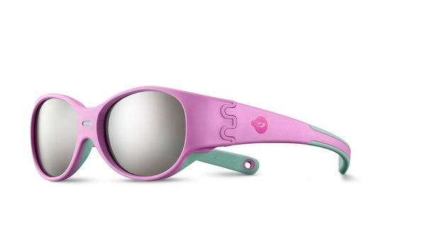 Julbo Domino J5211219 Childrens Sunglasses Pink/Blue Mint 3-5 Years