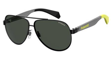 Polaroid Childrens Sunglasses PLD 8034/S Polarized 0807 Black