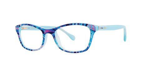 Lilly Pulitzer Tobyn Girls Eyeglasses Aqua