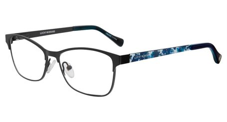 Lucky Brand Children's Eyeglasses D713 Black