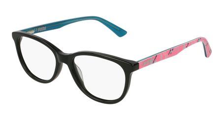 Puma Junior Kids Eyeglasses PJ0021O-002 Black/Multi