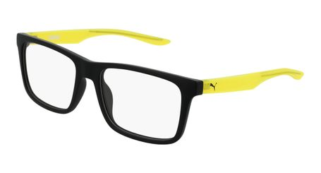 Puma Junior Kids Eyeglasses PJ0029O-001 Black/Yellow